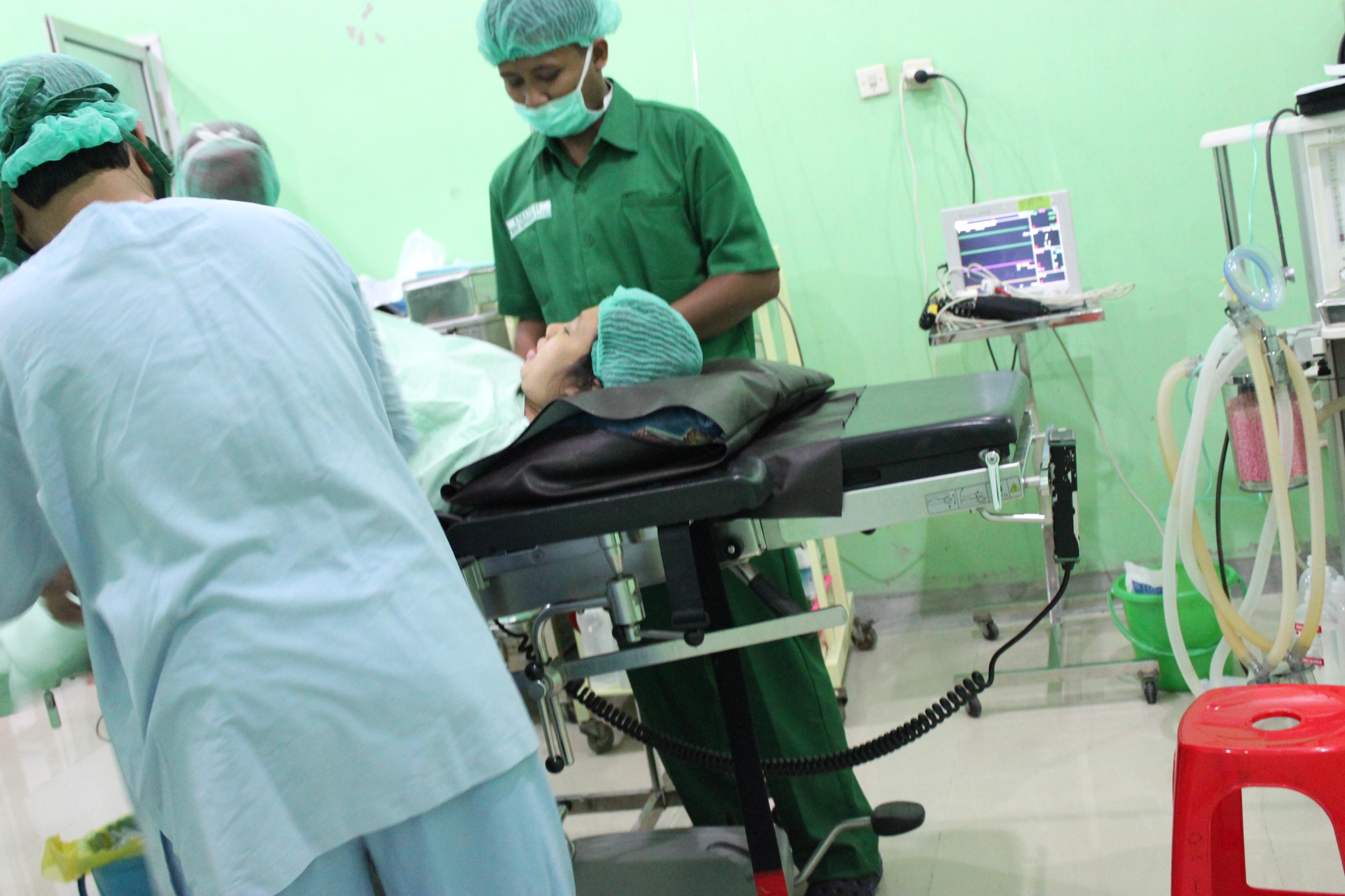 Operasi Cesar Ibuprima
